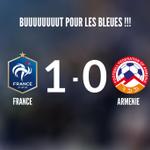 ????????FRANCE 1️⃣-0️⃣ ARMENIE BUUUUUUUUUUT DE GRIEZMANN !!! Les Bleus mènent 1-0 ! #CôtéFoot #FRAARM http://t.co/bUXRrFHYKX