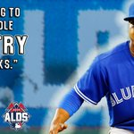 .@MStrooo6 has a message for all the @BlueJays fans out there. #ComeTogether http://t.co/y1JyDnoLDK
