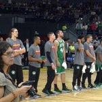 Celtics y Real Madrid, preparados para una batalla histórica. #NBAMadrid http://t.co/OWEVVQsInd
