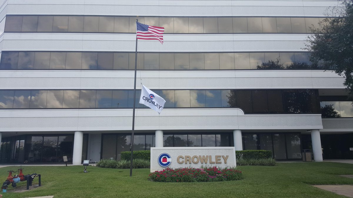#CrowleyMaritime flags at half mast in honor of the 33 @TOTE_Inc mariners who lost their lives when the #ElFaro sank http://t.co/UodaqM8V2l