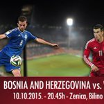 Big game in just two dyas, we've all been super nervous about it. Bosnia to take on Wales in Zenica. http://t.co/zvn7qCvfbS
