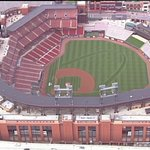 Busch Stadium one day before the #NLDS game between the @Cardinals and @Cubs #12inSTL http://t.co/BOylRQg1dm