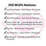 Vote now for these future and current Reds in the 2015 MiLBYs: http://t.co/vnZavz3Ud7 http://t.co/sKn8NKjp7V