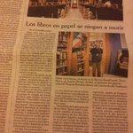 Los libros en papel se niegan a morir. (Artículo en papel, en el suplemento The New York Times en @el_pais) http://t.co/omWVmG4V5h