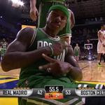 Saludos de Isaiah Thomas. Gran partido del base. #NBAMadrid http://t.co/erbSHgmghJ
