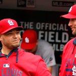 Yadier Molina, Adam Wainwright both on @Cardinals #NLDS roster vs Cubs: http://t.co/kdnt34Khp2 http://t.co/CXXVxTlNwe