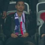 Quand toi tes en tribune alors que ton ancien compère de Lyon, Benzema plante un doublé ... #FRAARM http://t.co/znoaSmvN3n