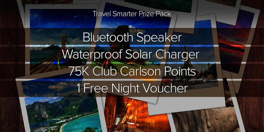 Tweet for a chance to #win 3 #travel goodies, along w/ a free stay & 75K points from @ClubCarlson! #CountryClubToWin http://t.co/pIhYgvEvjl
