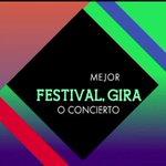 """.@pabloalboran nominado a #Premios40Ballantines @Los40_Spain como """"Mejor festival, gira o concierto"""" con #TourTerral http://t.co/XXW0NKvF62"""