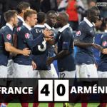 Victoire des Bleus avec des buts de Griezmann, Cabaye et Benzema (2) #FRAARM http://t.co/0P6Zhw82T3