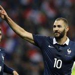 Large victoire de la France face à lArménie 4 à 0. Buts de Griezmann, Cabaye et Benzema deux fois #AFP http://t.co/edBKlsBGgd