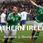 Congratulations, Northern Ireland! #EURO2016 http://t.co/1JDlKJYOaT