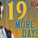 Only 19 more days until the @NBA tips off. Can @TheBlurBarbosa and the @warriors repeat? http://t.co/ZPQcW98jWI