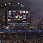 El Madrid se está viendo arrasado por unos acertados Celtics en los que sólo falta por anotar Mickey. #NBAMadrid http://t.co/RnFTFOTJnv