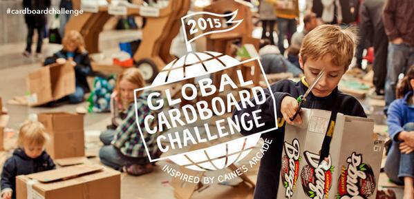 Help spark creativity in kids around the world! Join the 2015 Global #CardboardChallenge: http://t.co/MUhYKHuaRD http://t.co/lOY2fU39p2