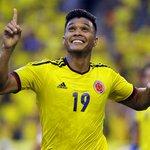 #DATAZO Teo Gutierrez (15) iguala a Victor Aristizabal y es ya el 5 goleador histórico de Colombia. Next> Rincón (17) http://t.co/kg0vuzb8Vl