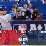 Gallardo & the Rangers hold the Blue Jays to 1 run in the 5th. Due up in the 6th: Fielder, Napoli, & Hamilton. http://t.co/p5bMwbYSQt