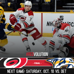 FINAL: #Canes 1, #Preds 2 Early recap and analysis: http://t.co/qWAFyKYJ36 #CARvsNSH #NHLFaceOff http://t.co/JcpYOFOAvZ