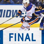 Tarasenko, Fabbri, and Brouwer tally for #OurBlues as they take the first game of the season 3-1! http://t.co/DecmI9US6k