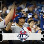 .@Rangers storm The North, take Game 1 of #ALDS: http://t.co/8Etpfbjqv2 #OwnOctober http://t.co/0VIR0kDmf5