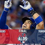 RANGERS TAKE GAME 1 OF THE ALDS!! #NeverEverQuit http://t.co/6VpToN7lo2