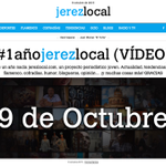 Ahora sí! http://t.co/443M9vHU7U cumple su primer año de vida!  #1añojerezlocal  http://t.co/i6yZFAiZ7s http://t.co/nnJlqkqKui
