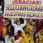Terminó el partido. #Colombia 2 - Perú 0. Goles de Teo Gutiérrez y Edwin Cardona. #ConLaTricolorPuesta #Rusia2018 http://t.co/TAOgY1n0pZ