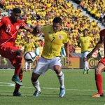 Final del partido. Triunfo de #Colombia 2-0 sobre #Perú. Goles de @TeoG29 y @edwincardona10_ #EliminatoriasCONMEBOL http://t.co/gqHpBLZS1B