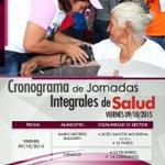 LEA   09/10/15 Jornada Integral de Salud en los municipios GIRARDOT y MBI. @TareckPSUV @NicolasMaduro http://t.co/qaABLuiv11