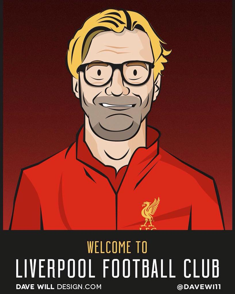 Feel free to share my new Klopp image, retweet it, add it to Facebook, Instagram etc & let's see how far it can get! http://t.co/2oVjkP5hCa