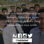 Berkawanlah. Bergembiralah. #nakbebel http://t.co/vQCLoeXmJn
