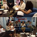 And of course after the #GreysAnatomy table read, we have writers notes! #TGIT http://t.co/I48EILnzxR