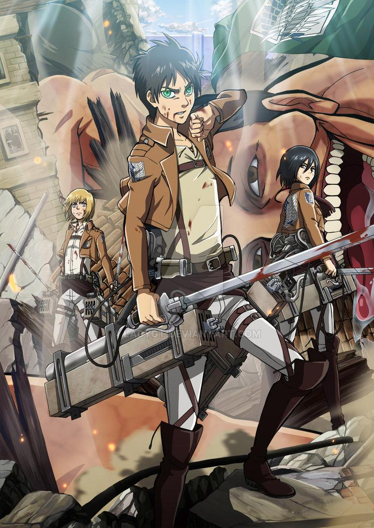 Attack on Titan by Ladygt http://t.co/wTxPHGgSSX