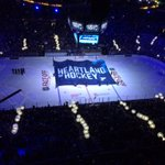 Like pins on a map, these lights represent the young players who are putting STL hockey on the map. #WJCinSTL http://t.co/tn6p2JewWJ