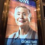 Hey Now! Looking good, @GeorgeTakei! #allegiancebway #OhhMyyy @allegiancebway #nyc http://t.co/tMDtCu5VXX