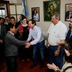 También realizamos la entrega de subsidios a instituciones deportivas de la ciudad de Mercedes #Corrientes http://t.co/vbkAp4Jiq6