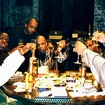 Jay Z, Biggie Smalls, AZ and more playing monopoly with real money, 1996. http://t.co/KAwzcOg3yO