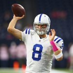 Consistency is key. Tonight is Matt Hasselbecks 1st multi-pass TD game since Week 4 of 2012 against... the Texans. http://t.co/zUcAJHP0G6