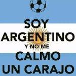 #SomosArgentina Siempre empiezo tranquilito a ver los partidos y al ratito... http://t.co/kJDeqrM4Et