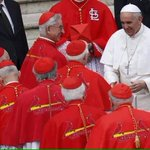 The Pope is even on the @Cardinals side for tomorrows matchup against the @Cubs! #12inSTL http://t.co/j1AAQ4RRCd