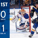 After 1, Edmonton leads #OurBlues 1-0 on a Ryan Nugent-Hopkins goal. http://t.co/whFGSe2nNL