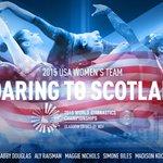 The U.S. womens team for the 2015 Worlds in Glasgow is Biles, Douglas, Dowell, Kocian, Nichols, Raisman, + Skinner! http://t.co/8I5bcTjbzG