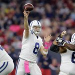 Colts jump out to 10-0 lead over the Texans after 1 quarter of play. #INDvsHOU http://t.co/kNOzMiyBHU