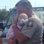 A reunion between the @JeffCoSheriff deputies and the baby they held after a crash in Leeds. @WIAT42 http://t.co/YyUSCnqAnD