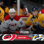 End of 2nd: #Canes 0, #Preds 2 Shots: CAR 14, NSH 22 #CARvsNSH #NHLFaceOff http://t.co/jZEPIROCXG