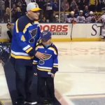 Twas the night before the #NLDS and @YadiMolina04 spent it at the @StLouisBlues game: http://t.co/sazGLdmh2y http://t.co/KY5AhRwdfq
