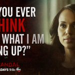 The burning question on Olivias mind! #Scandal http://t.co/HzQfxDDn91