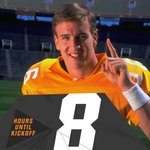 8 Hours To Kickoff: #PeytonManning threw 8 TD passes vs. #UGA in his #Vols career including 4 in 1997 win, 38-13 http://t.co/UENya69WGo