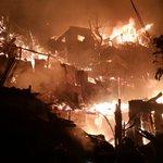 FOTOS: Declaran Alerta Roja por gran incendio en el Cerro Arrayán de Valparaíso http://t.co/DKc2j2B88K http://t.co/Qh8JB35E2z