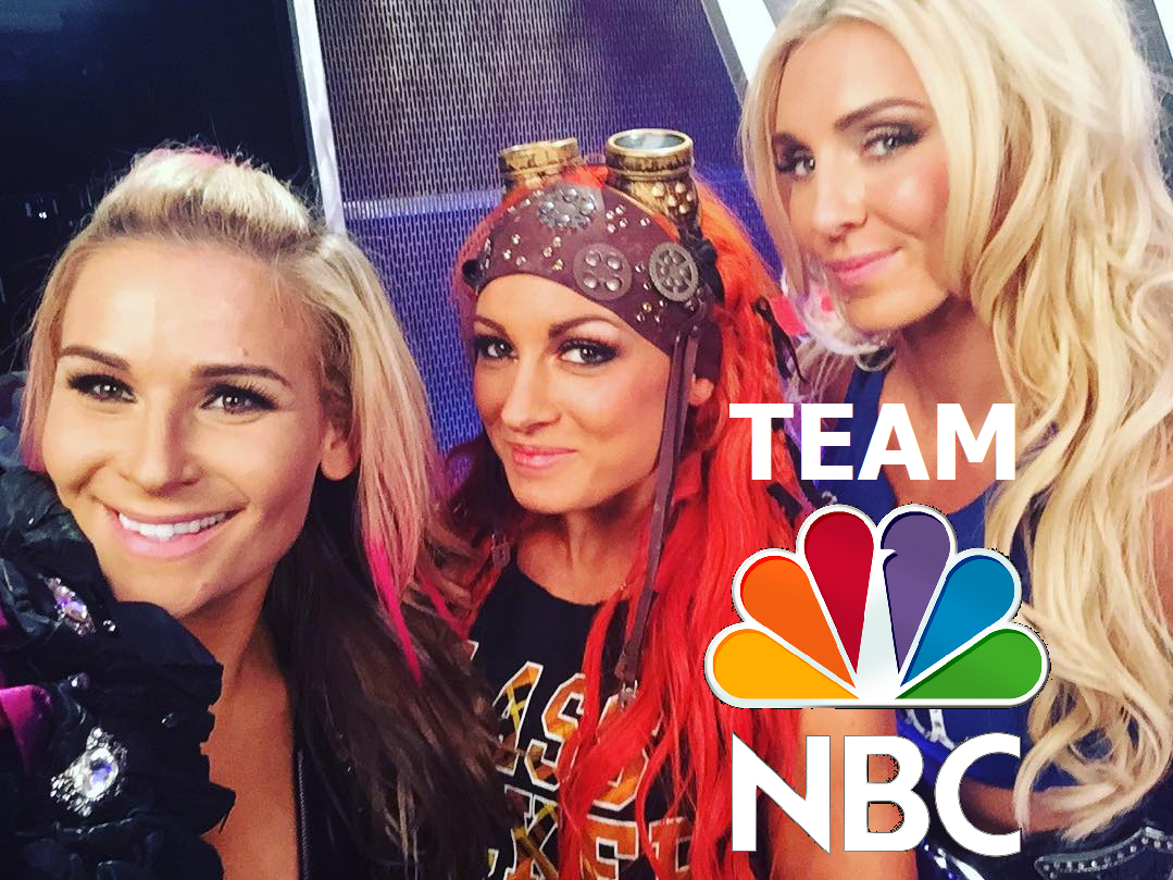 #SMACKDOWN: The Most Watched Group of Women Wrestlers is here! Ladies and Gentlemen..it's #TeamNBC! http://t.co/dsbwjZeRV2